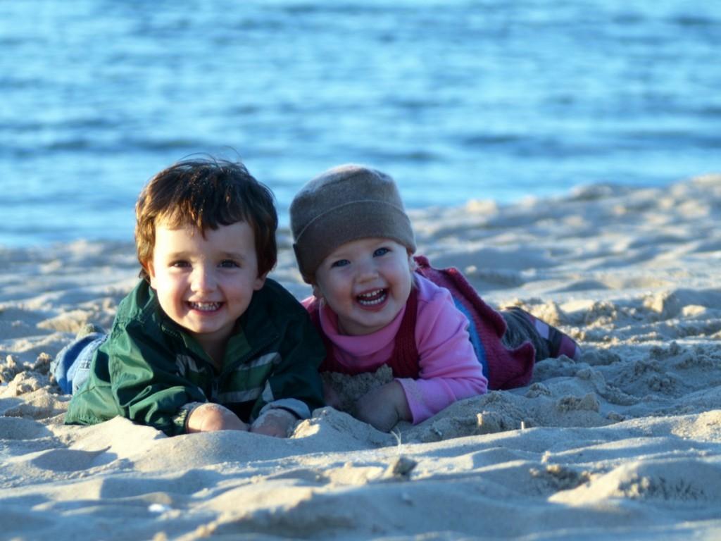Children Good Harbor Beach